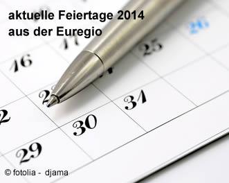 Aktuelle Feiertage 2014